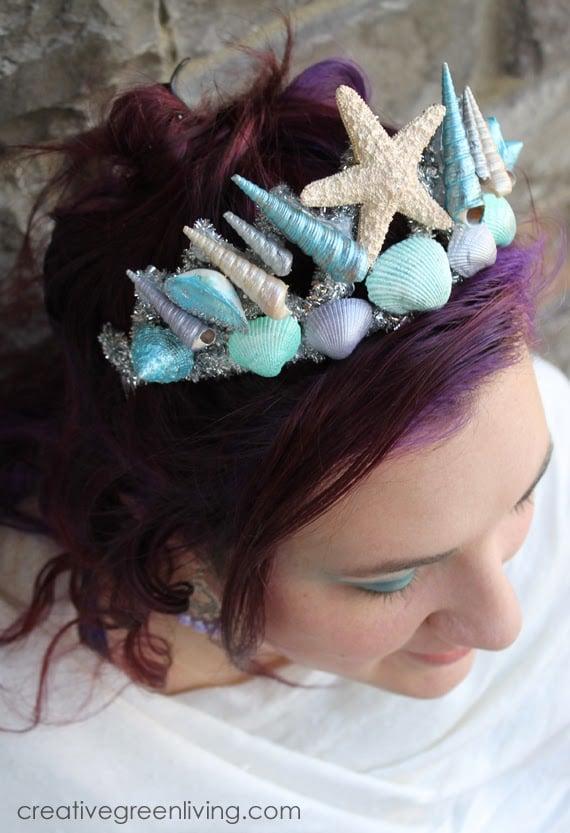 Mermaid Party Ideas | DIY Mermaid Tiara