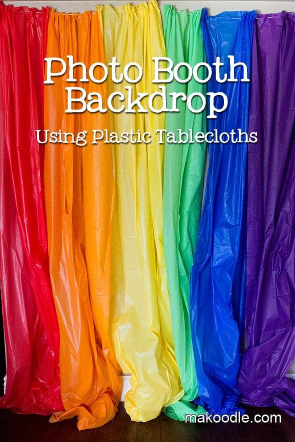 DIY Rainbow Photo Booth Backdrop | My Little Pony Party Ideas