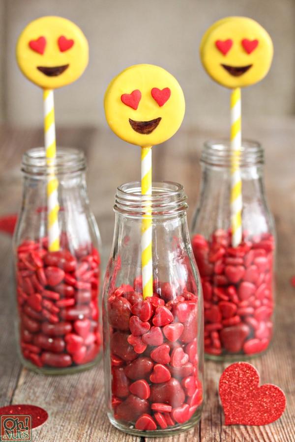 Emoji Oreo Pops | Emoji Birthday Party Ideas