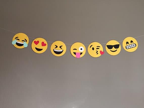 Emoji Party Banner | Emoji Birthday Party Ideas