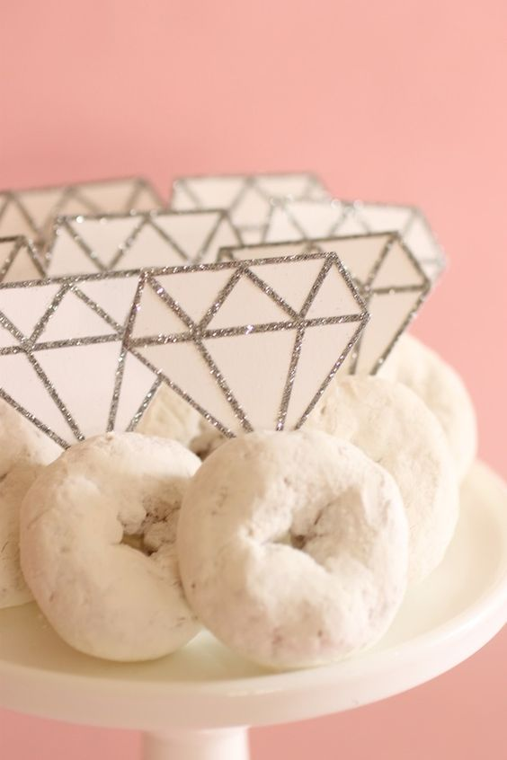 Engagement Ring Donuts | Bachelorette Party Ideas