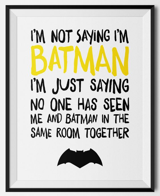 Free Batman Party Printable Sign   Batman Party Ideas