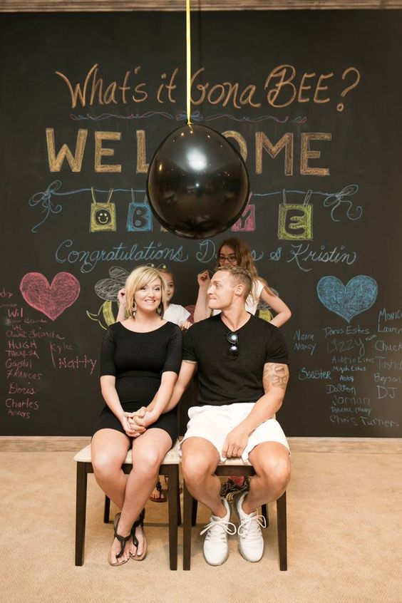 Pop Up Paint Booth >> 27 Creative Gender Reveal Party Ideas - Pretty My Party