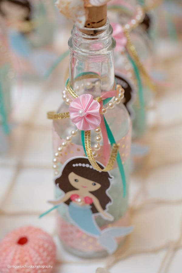 Magical Mermaid First Birthday Party Decor
