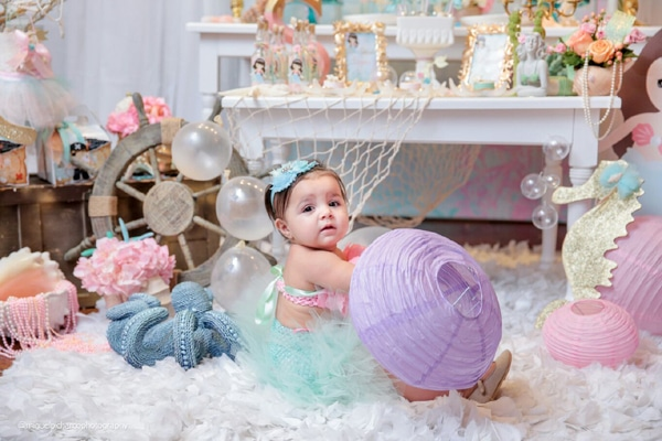Magical Mermaid First Birthday Party Ideas