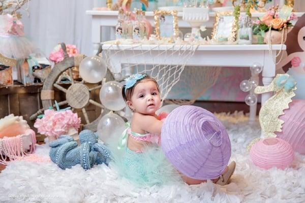 Magical Mermaid First Birthday Party Ideas