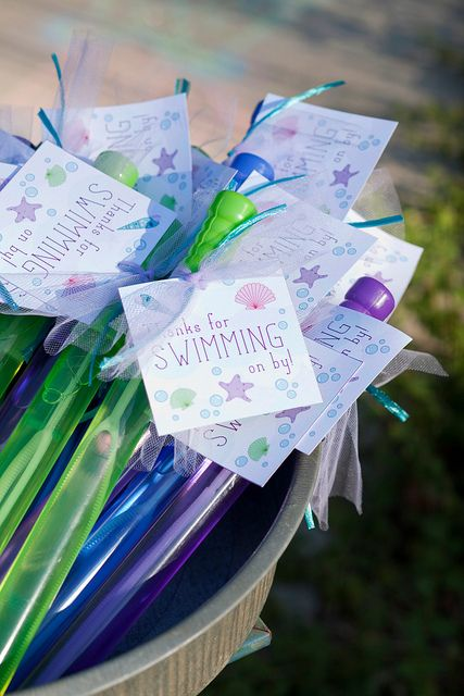 Mermaid Party Ideas | Party Favors