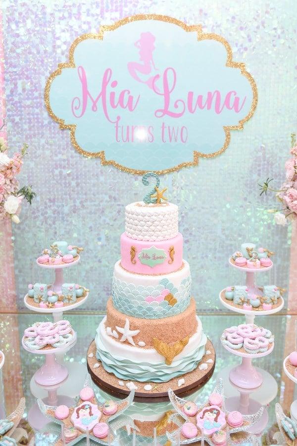 Mermaid Party Ideas | Birthday Cake