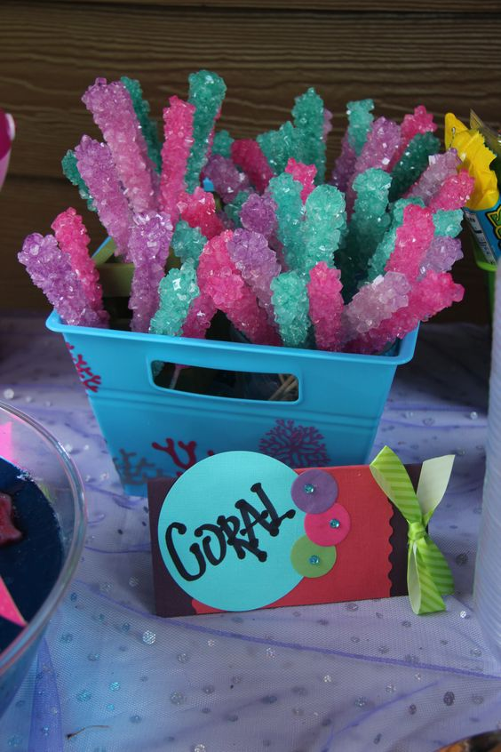 Coral Candy | Mermaid Party Ideas