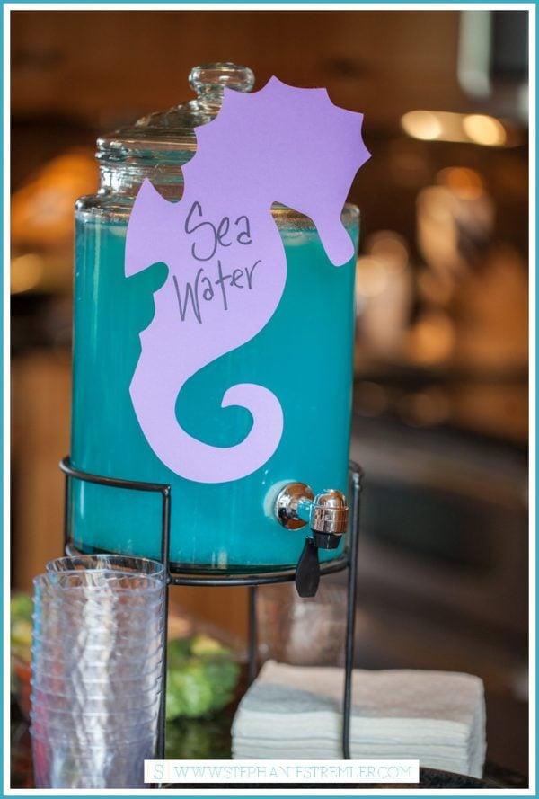 Sea Water - Mermaid Party Drink