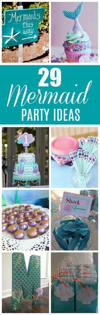 Mermaid Party Ideas - Pretty My Party