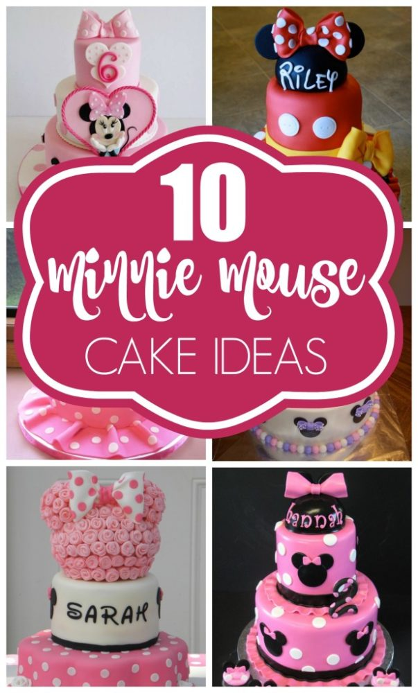 Minnie Mouse Cake Ideas For First Birthday Parties
