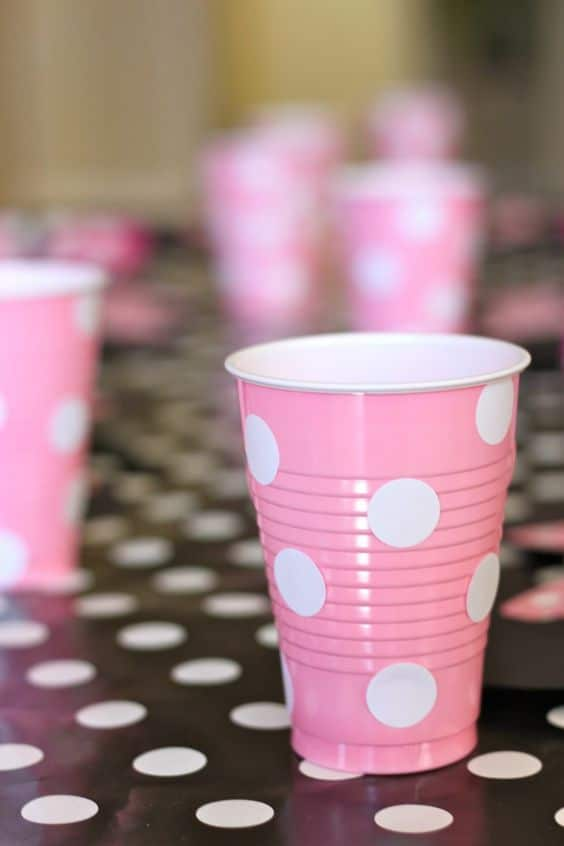 Minnie Mouse Party Ideas   Cups