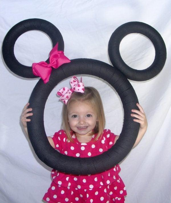 Minnie Mouse Party Ideas   Photo Prop