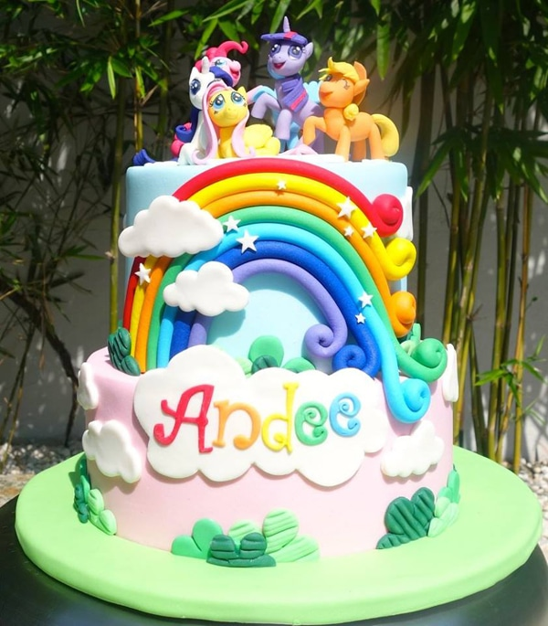 My Little Pony Birthday Cake | My Little Pony Party Ideas
