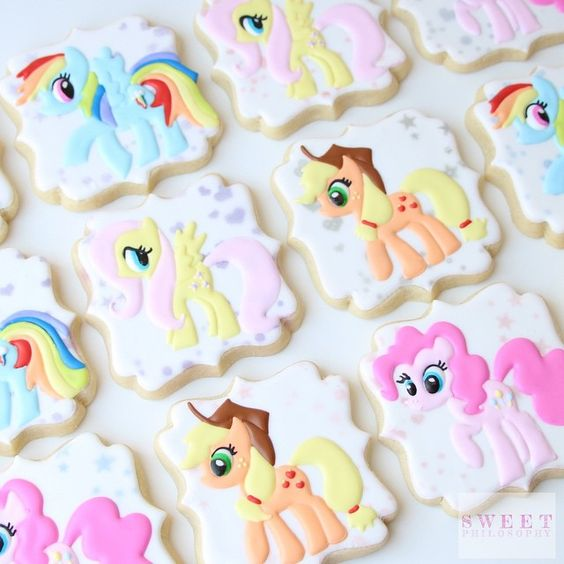 My Little Pony Cookies | My Little Pony Party Ideas