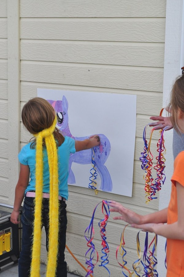 Pin the Tail on My Little Pony | My Little Pony Party Ideas