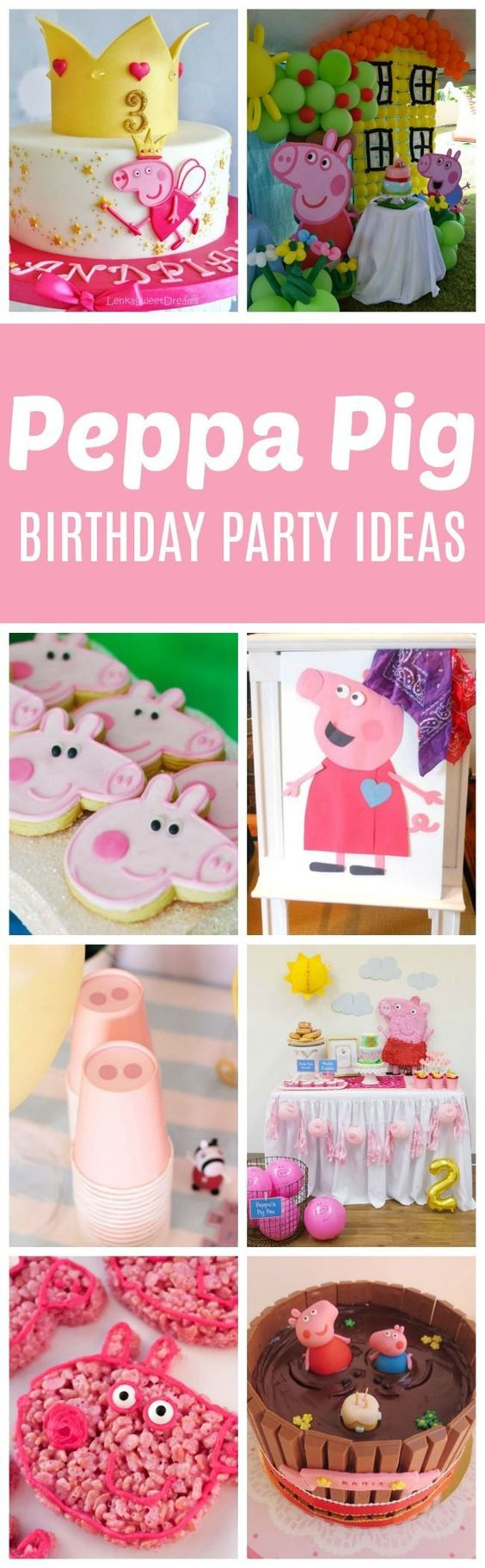 Peppa Pig Birthday Party Ideas - Pretty My Party