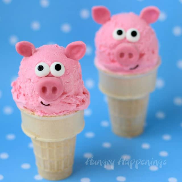 Peppa Pig Ice Cream Cones