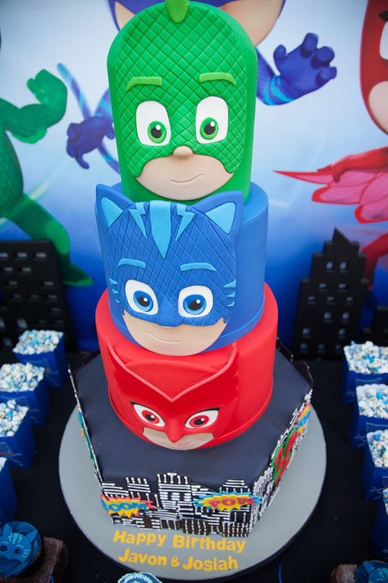image about Pj Masks Printable Images named 13 Entertaining PJ Masks Occasion Strategies - Charming My Celebration - Social gathering Guidelines