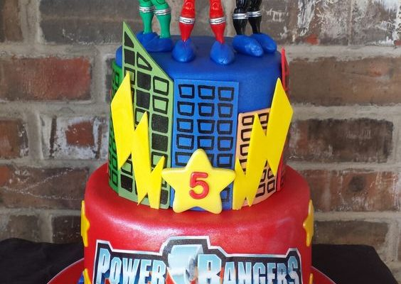 13 Power Rangers Party Ideas