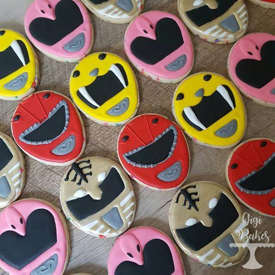 Power Ranger Cookies | Power Ranger Birthday