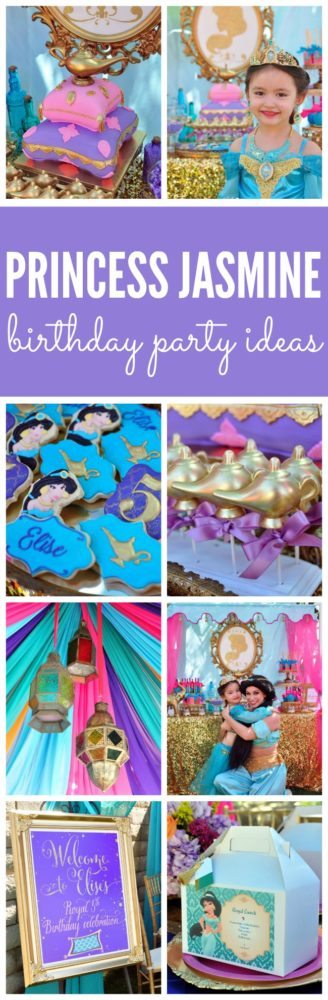Princess Jasmine Arabian Nights Birthday Party | Pretty My Party