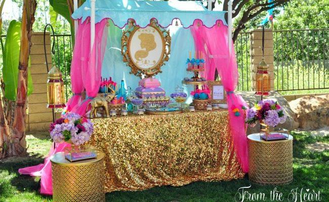 Princess Jasmine Arabian Nights Birthday Party