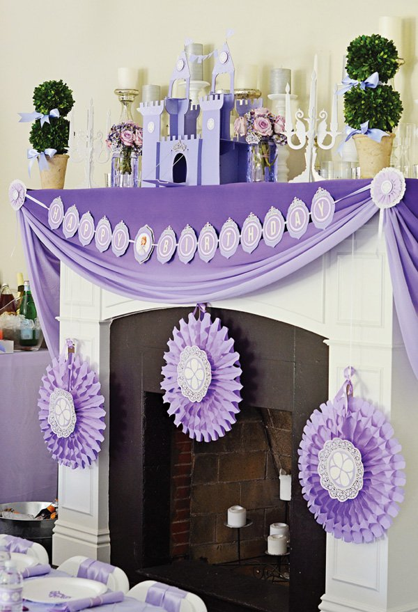 Sofia the First Party Decorations | Sofia the First Party Ideas