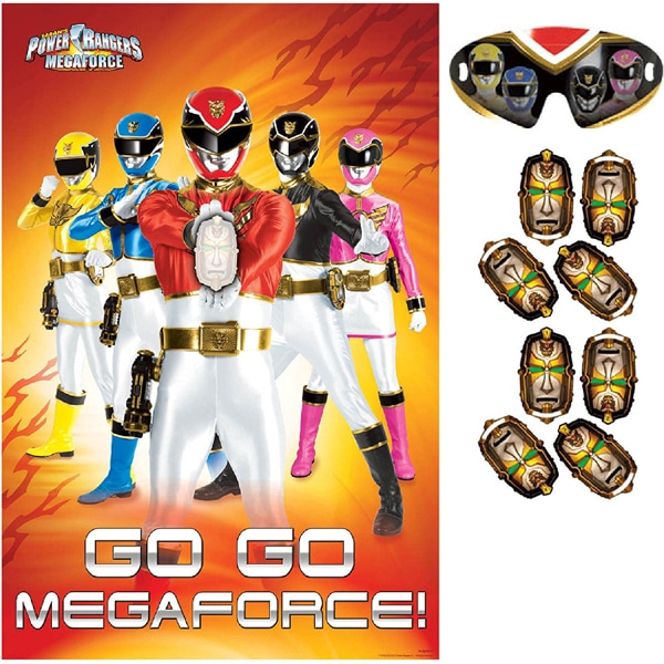 Power Rangers Megaforce Game | Power Rangers Party Ideas