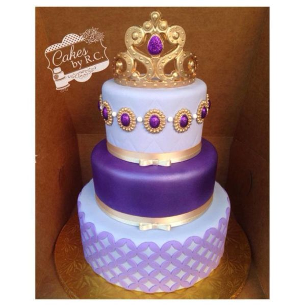 Sofia the First Birthday Cake | Sofia the First Party Ideas