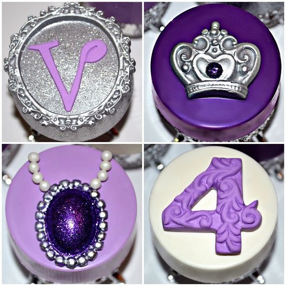 Sofia the First Oreos | Sofia the First Party Ideas
