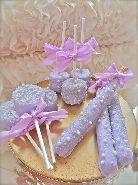 Sofia the First Party Desserts | Sofia the First Birthday Party Ideas