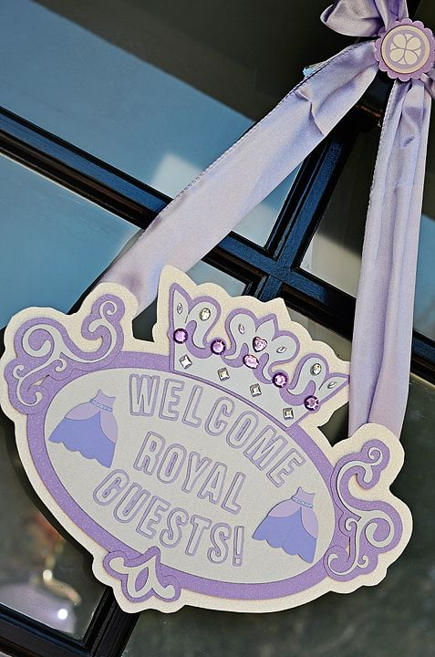Sofia the First Party Sign | Sofia the First Party Ideas