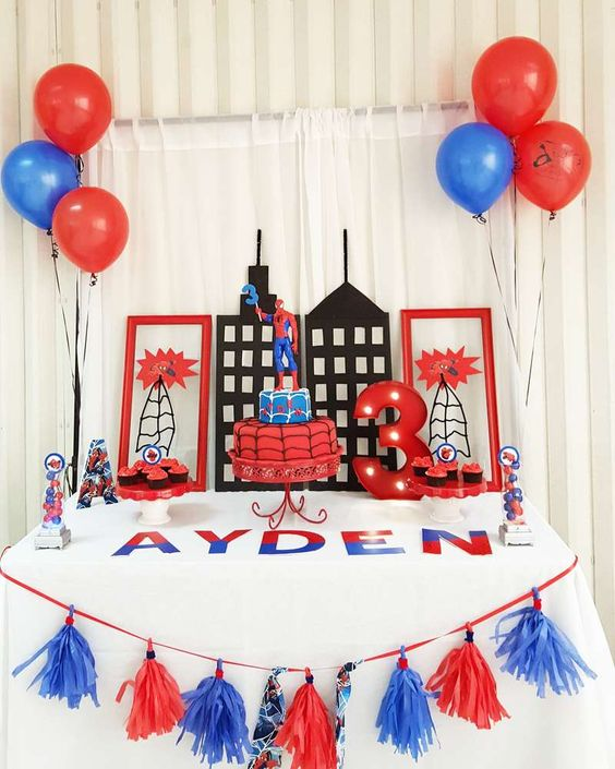 21 Spiderman Birthday Party Ideas