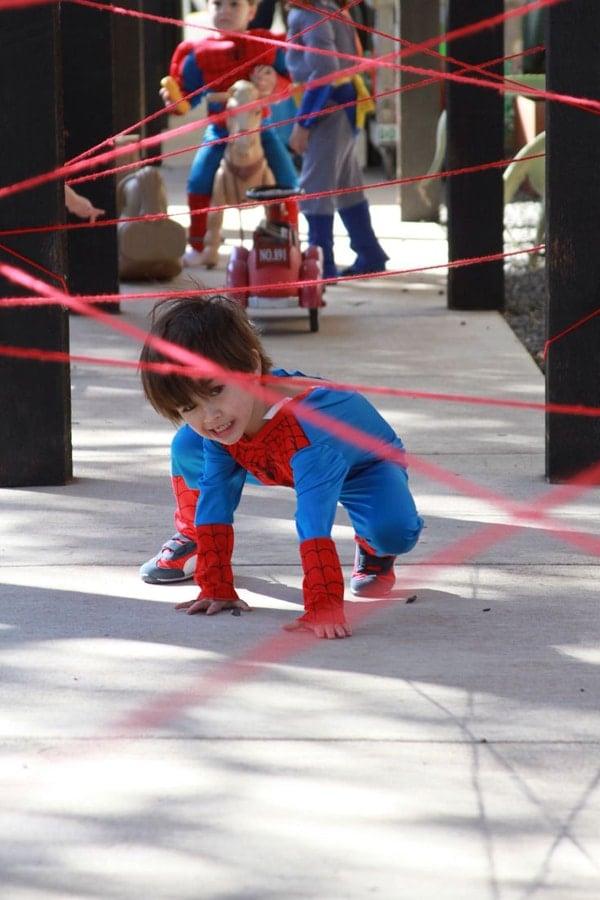 Spiderman Birthday Game