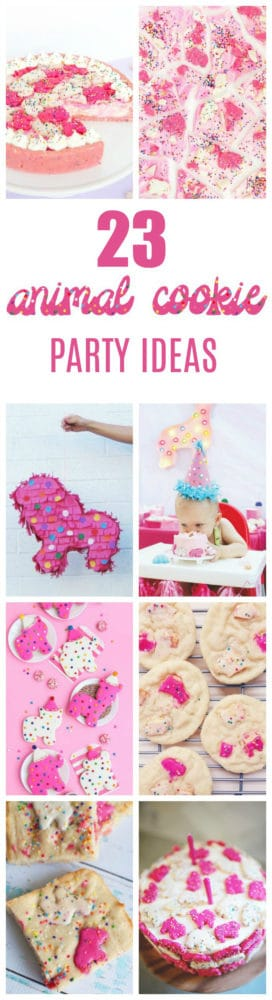 23 Circus Animal Cookie Party Ideas featured on Pretty My Party