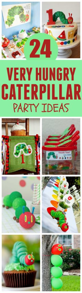 24 Very Hungry Caterpillar Party Ideas featured on Pretty My Party