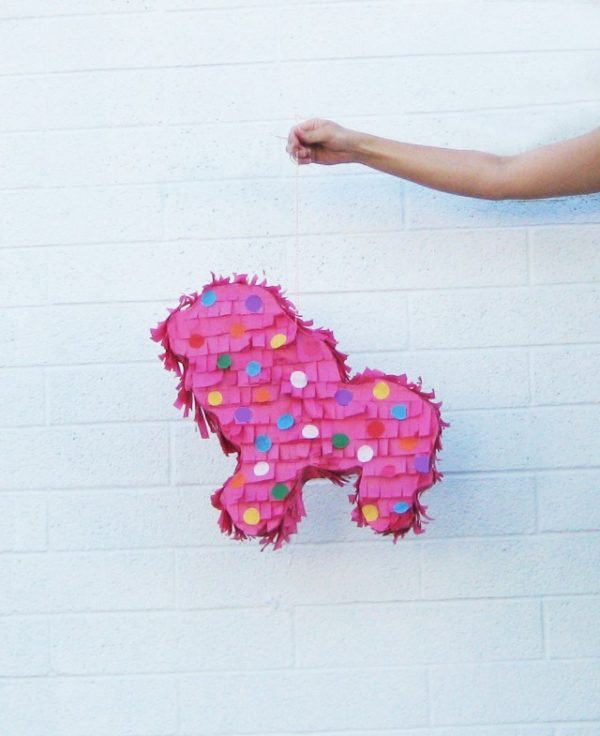 DIY Circus Cookie Piñata | Circus Animal Cookie Party Ideas
