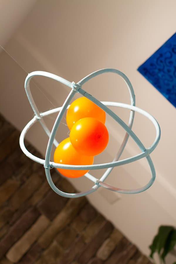DIY Atom Decoration | Mad Scientist Party Ideas