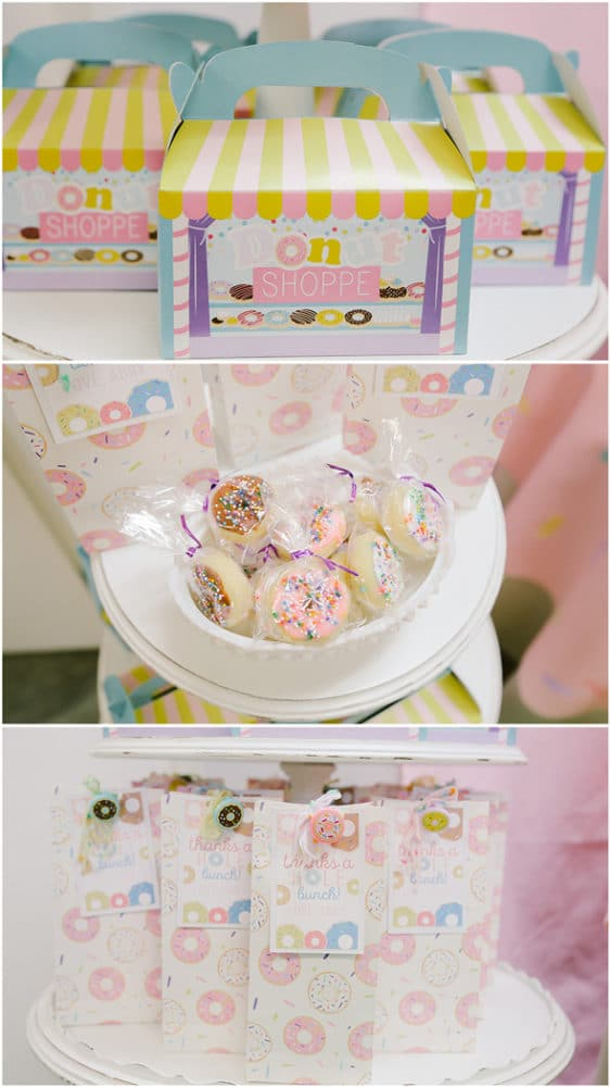 Gorgeous Donut Themed Birthday Party featured on Pretty My Party