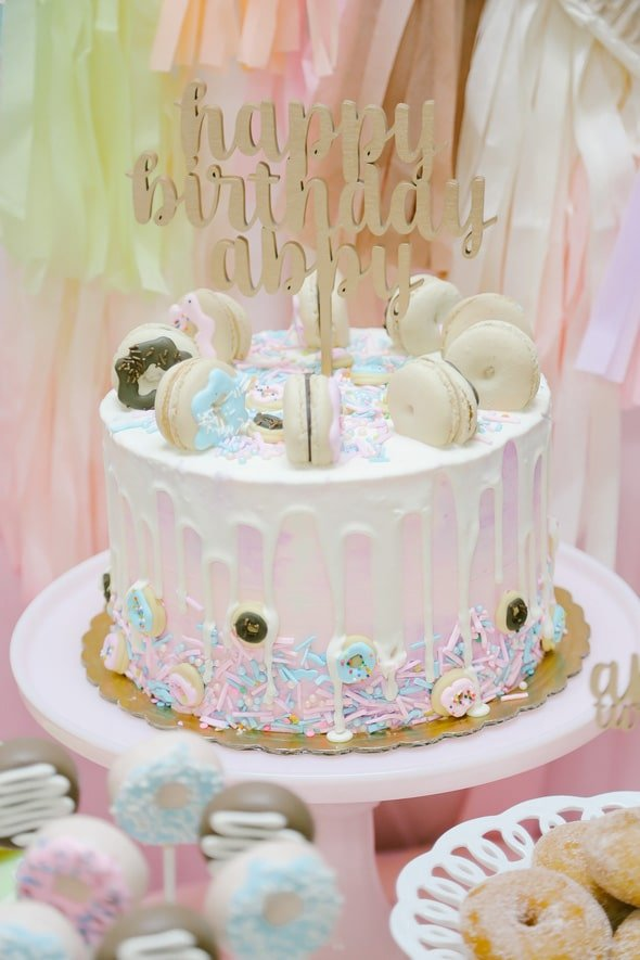 Gorgeous Donut Themed Birthday Party