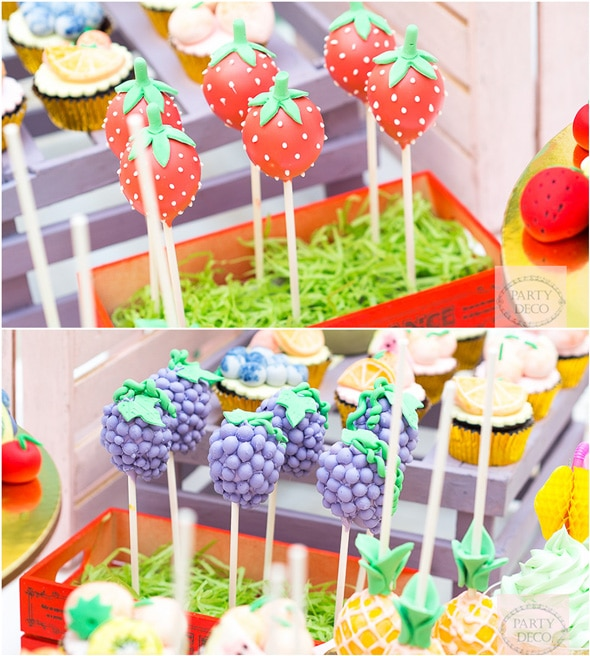 Tutti Frutti Party Desserts | Tutti Frutti Party Ideas