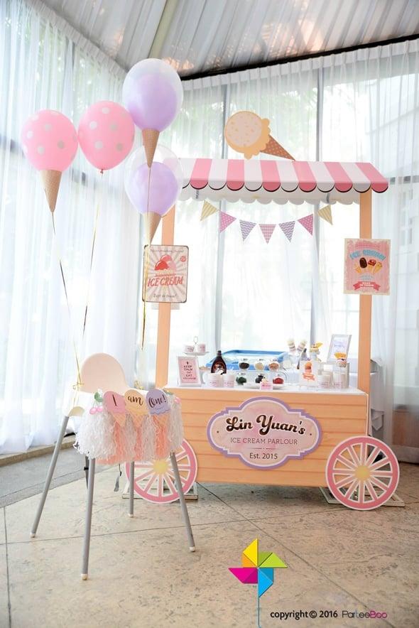 Ice Cream Party Decorations | Ice Cream Party Ideas