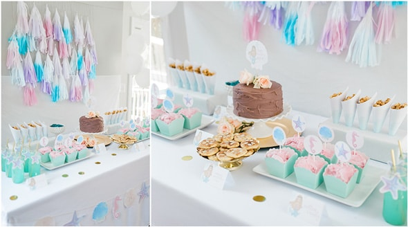 Mermaid Birthday Party Decorations