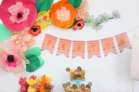 Moana Birthday Celebration