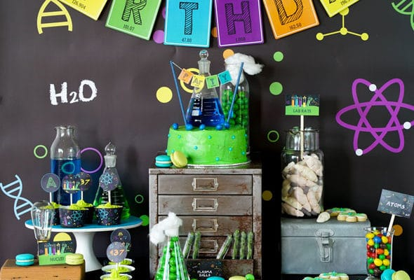 24 Insane Mad Scientist Party Ideas