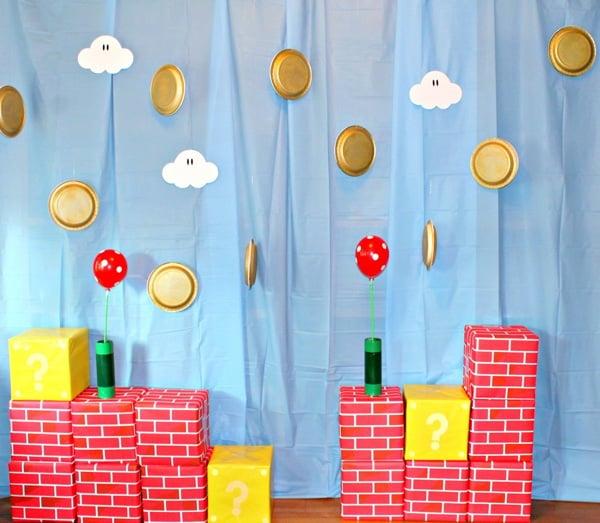 Super Mario Party Backdrop | Super Mario Party Ideas
