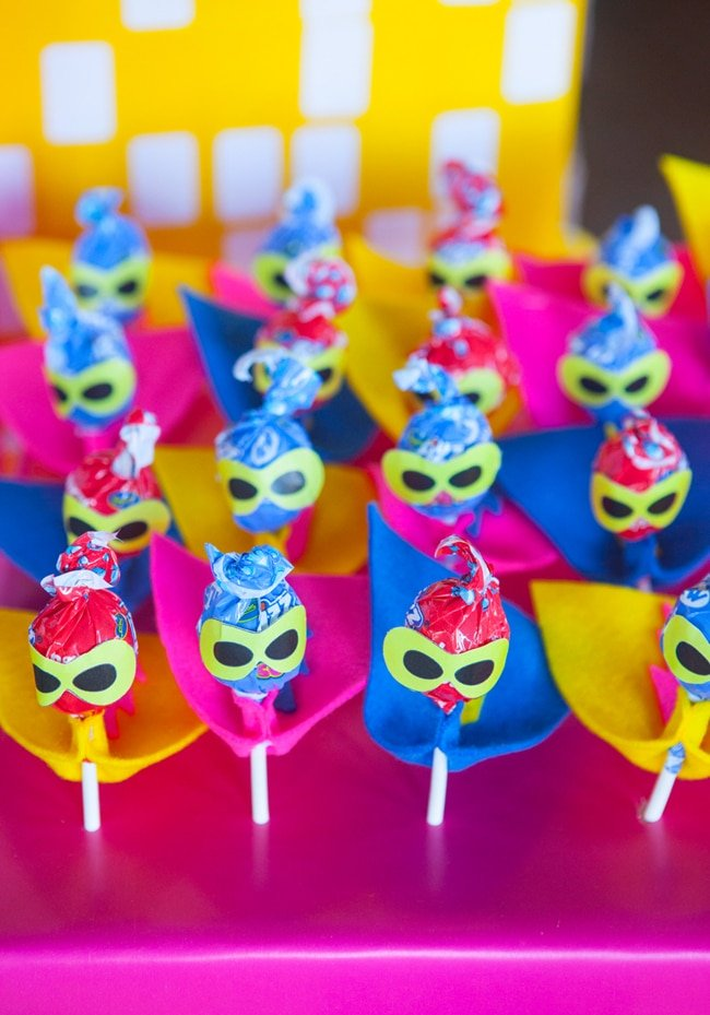 Most popular kids party themes: Girly Superhero Party