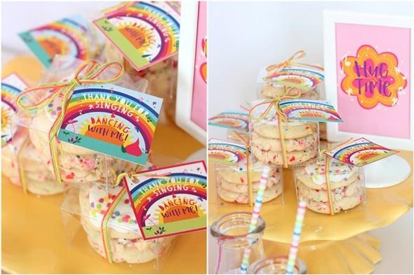 Trolls Party Cookies